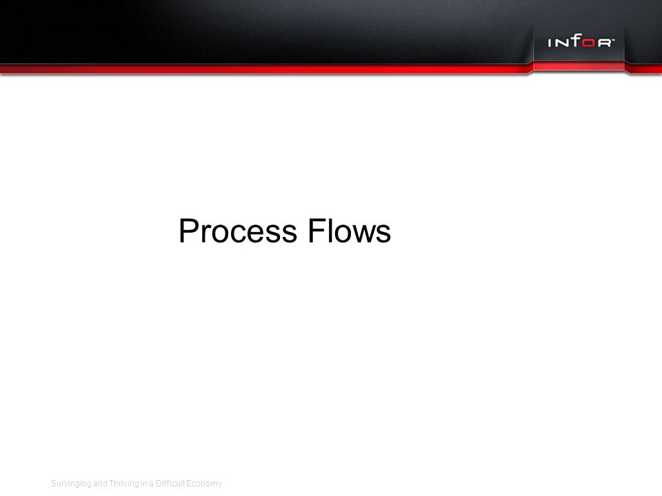 Template V.16, July 19, 2011 SAMPLE BUSINESS PROCESS FLOWS Survinging and Thriving in a Difficult Economy Process Flows