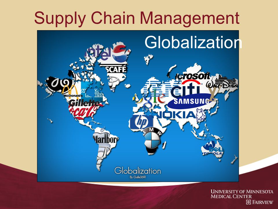Supply Chain Management Globalization