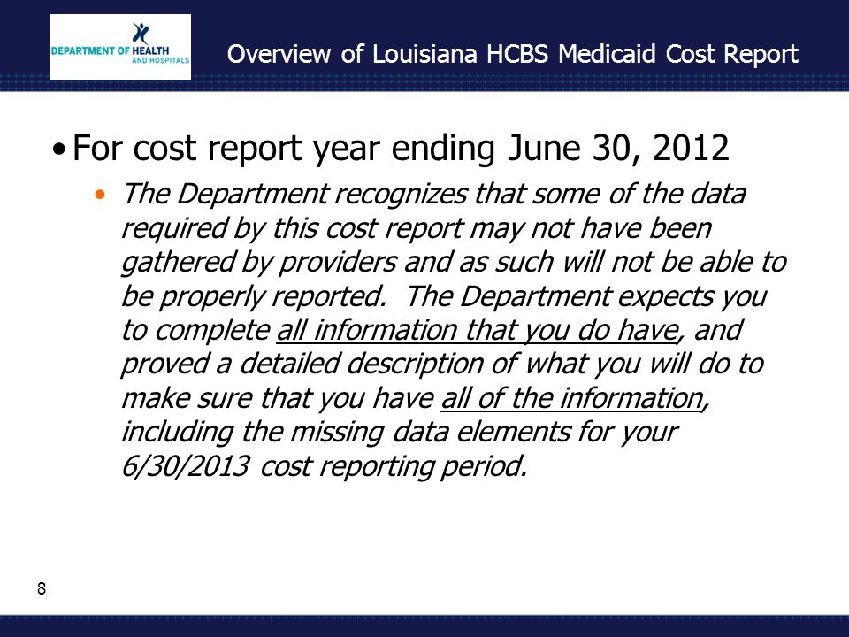 39 Basic Cost Principles Provider Reimbursement Manual (PRM) – HIM- 15 Allowable cost Reasonable Expectation is that the provider seeks to minimize costs Costs do not exceed what a prudent and cost conscious buyer would pay Related to client care Necessary and Proper Costs to develop and maintain the operation of client care program and activities Costs which are common and accepted occurrences in field