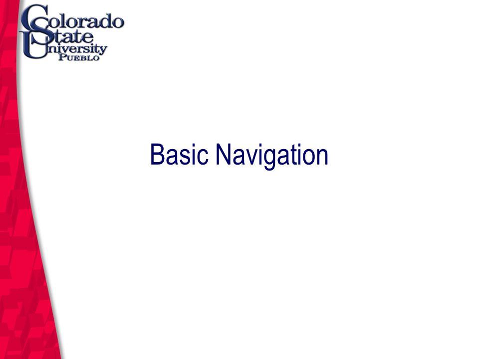 March 12, 2004 Basic Navigation