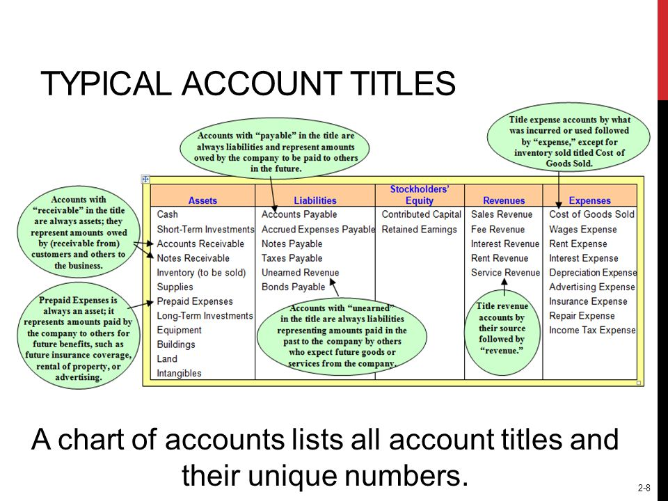 2-19 TRANSACTION ANALYSIS MODEL T-Account (Any account) debitcredit T-account is merely a shorthand term for the entire ledger account.