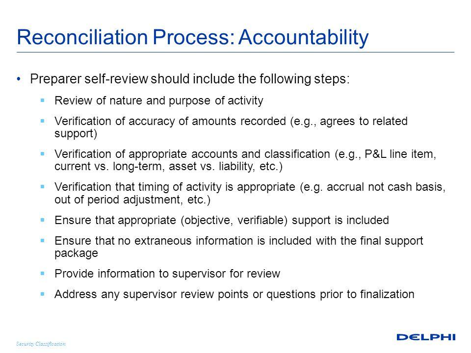 Security Classification Statutory Account Reconciliation - Example  Net Income Amount per Statutory Books $1,255,350 Balance per U.S.