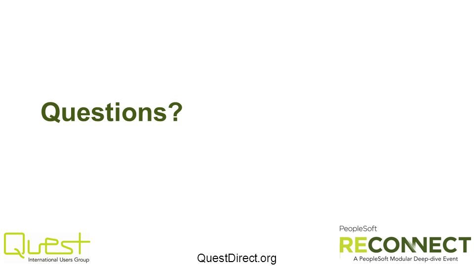 QuestDirect.org Questions?