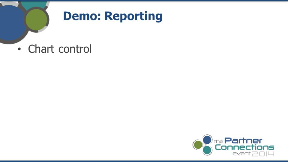Chart control Demo: Reporting