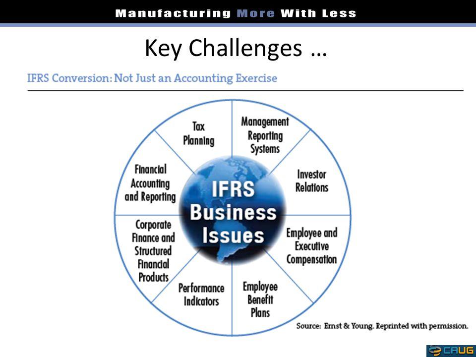 Key Challenges …