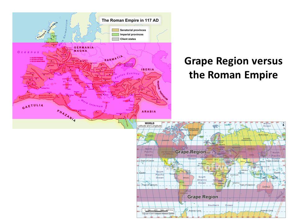 Grape Region versus the Roman Empire