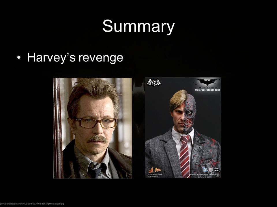 Summary Harvey's revenge