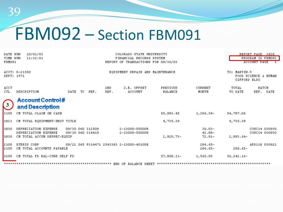 39 3 FBM092 – Section FBM091