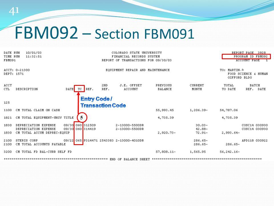 41 5 FBM092 – Section FBM091