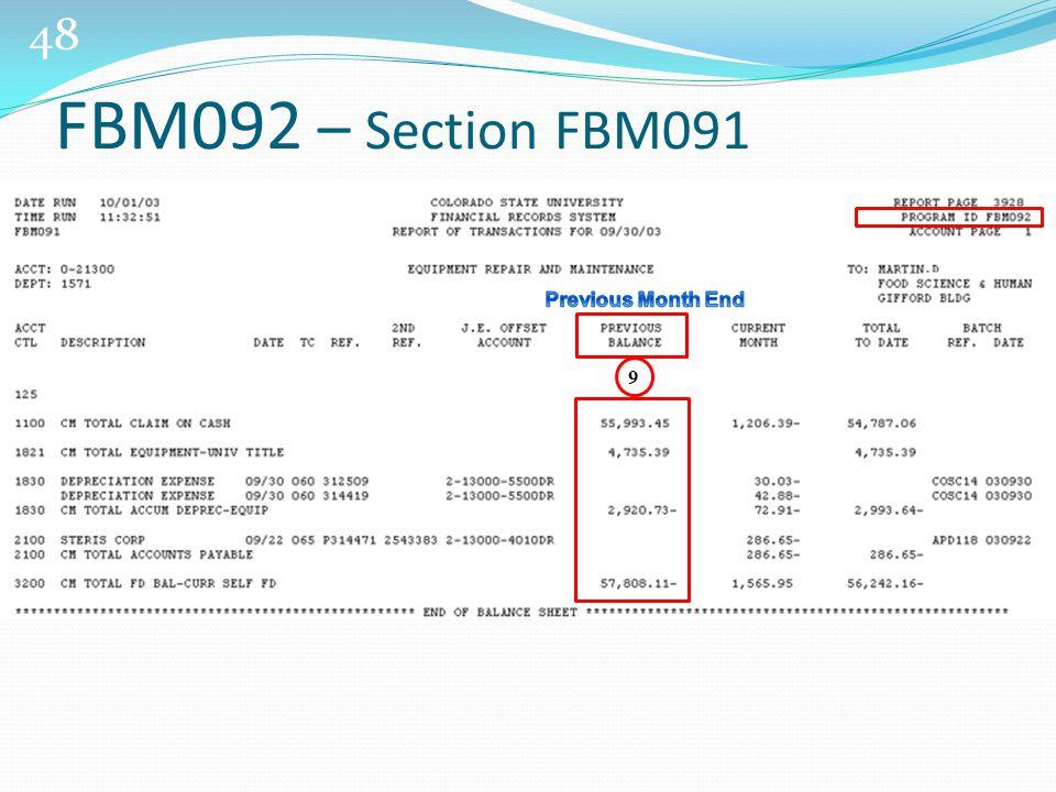 48 9 FBM092 – Section FBM091
