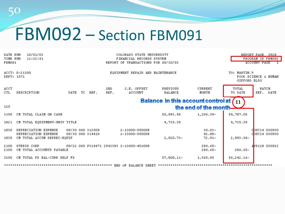 50 11 FBM092 – Section FBM091