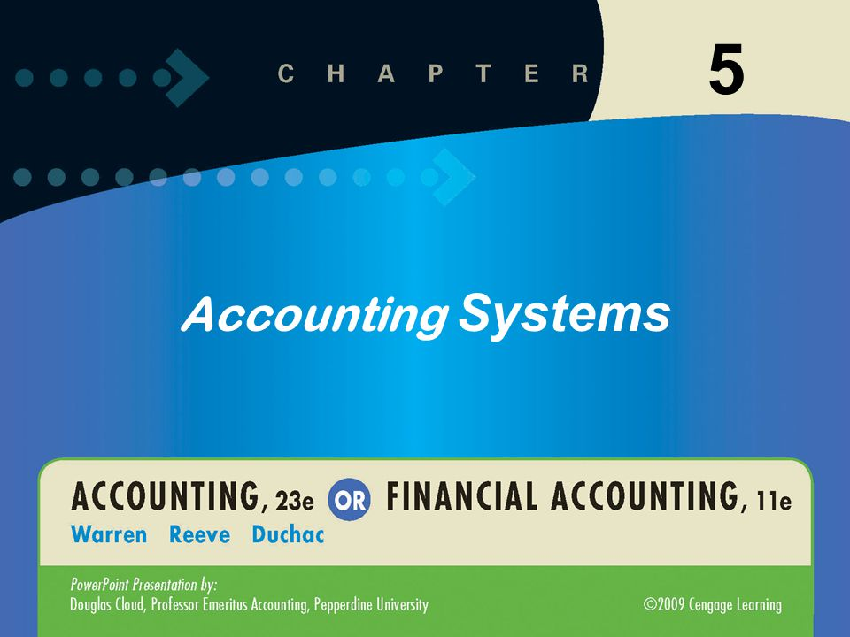 5-1 1 Accounting Systems 5