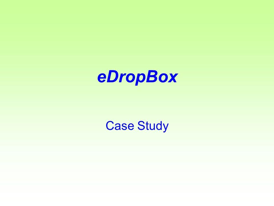 eDropBox Case Study