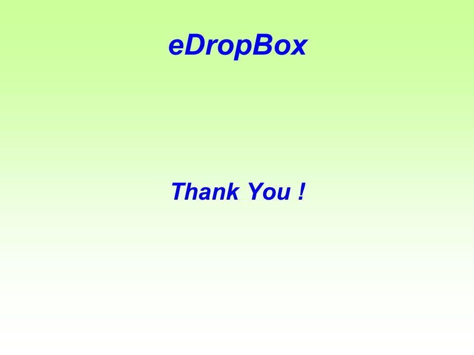 eDropBox Thank You !
