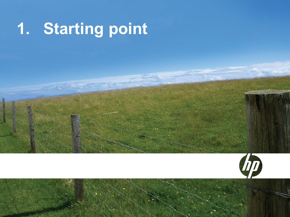 1.Starting point