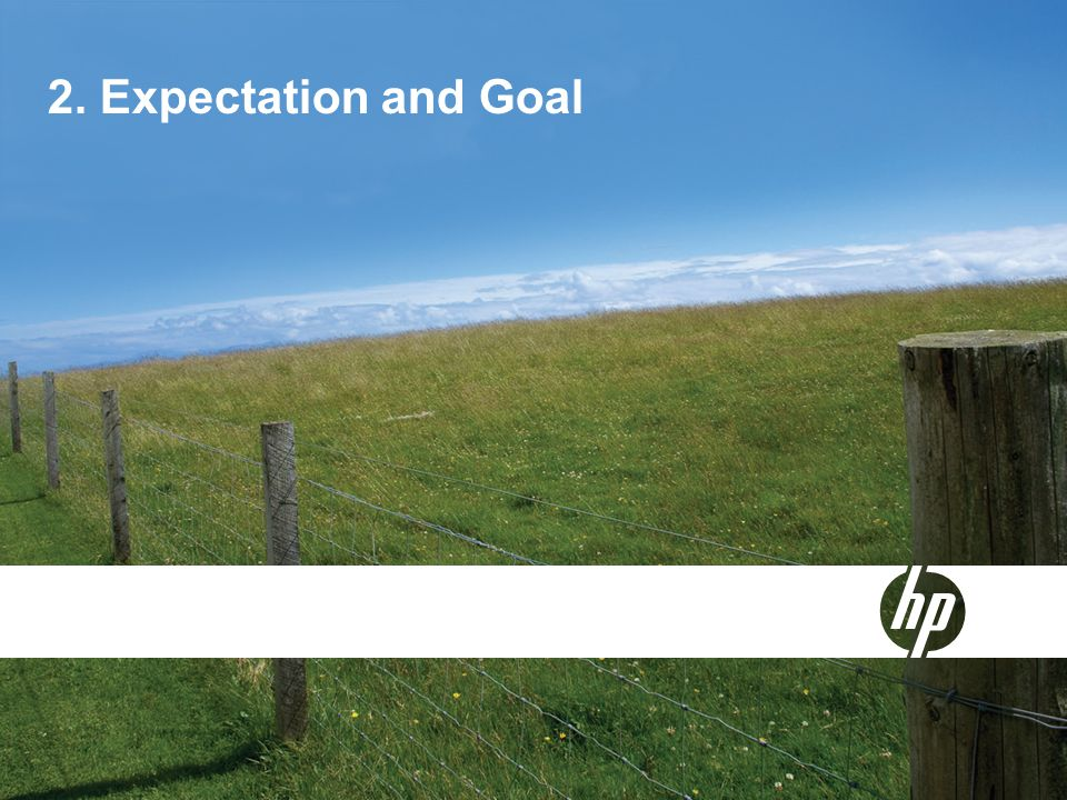 2. Expectation and Goal
