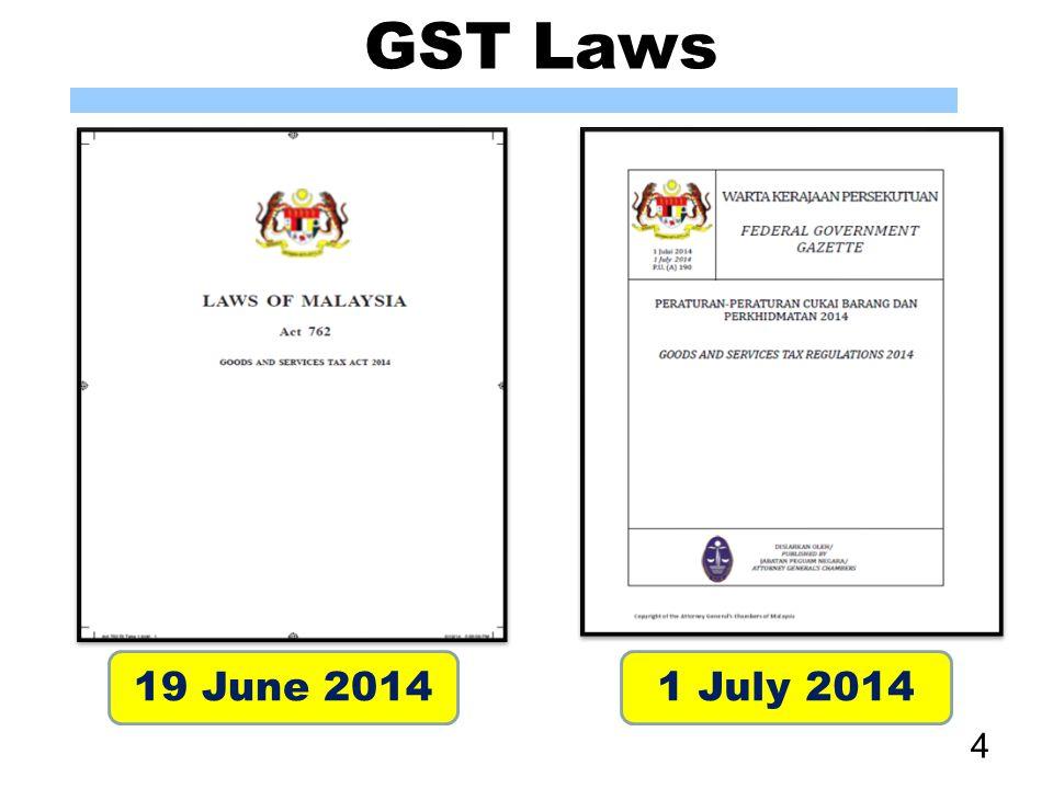 GST Laws 30 June 2014 5