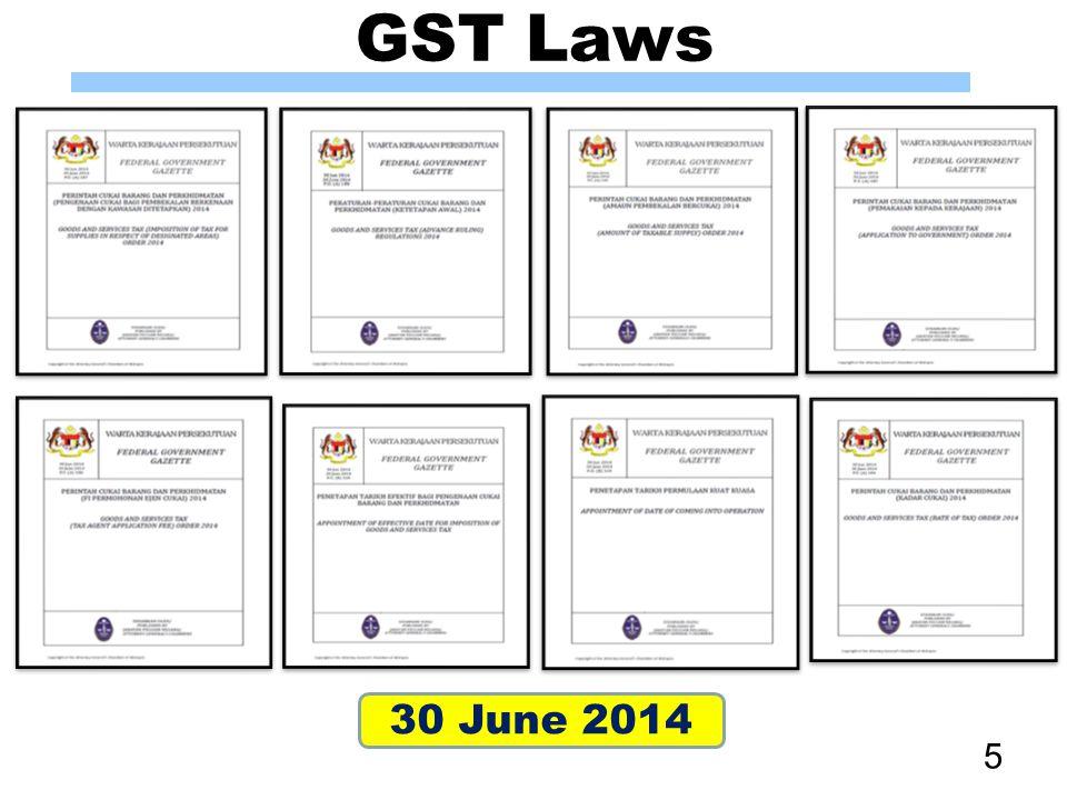 76 www.gst.customs.gov.my