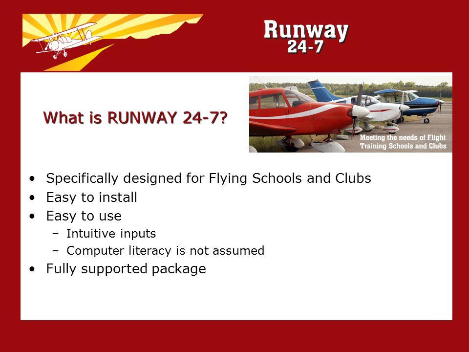 What is RUNWAY 24-7.