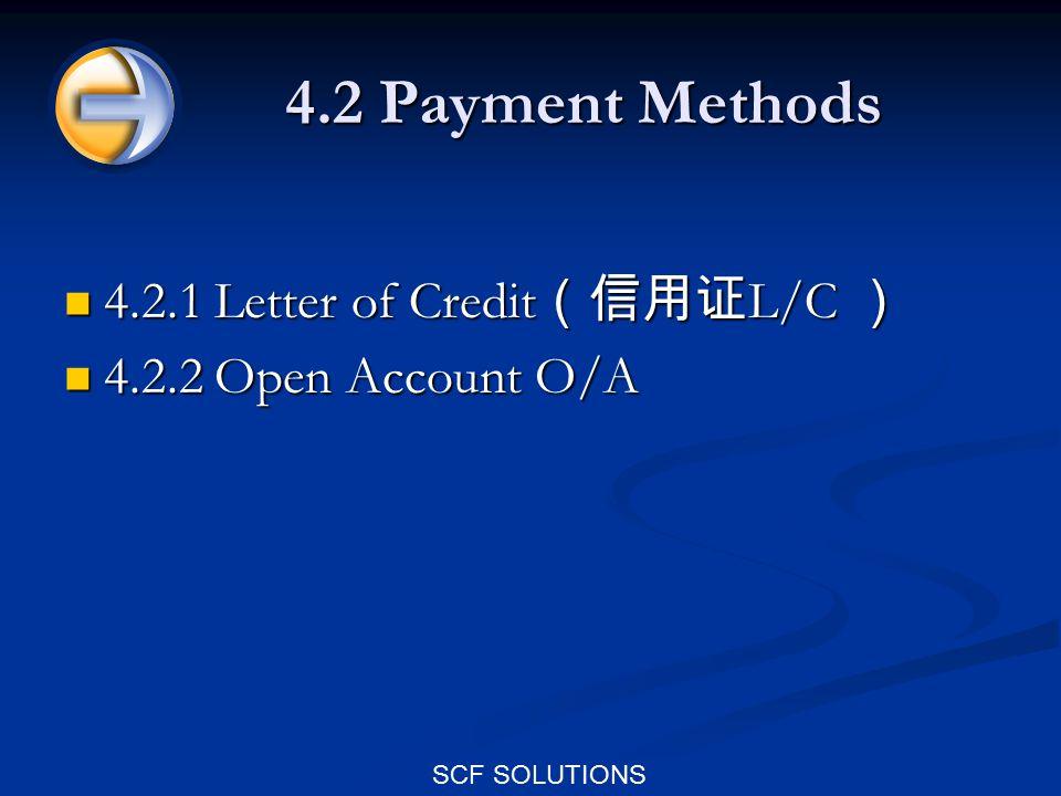 SCF SOLUTIONS Eg: the main SCF service providers Global Supply Chain Finance Global Supply Chain Finance Trade Card Trade Card 一 B2B 电子商务交易平台 ( http://www.tradecard.com.