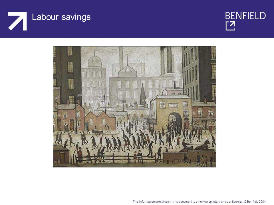 Labour savings