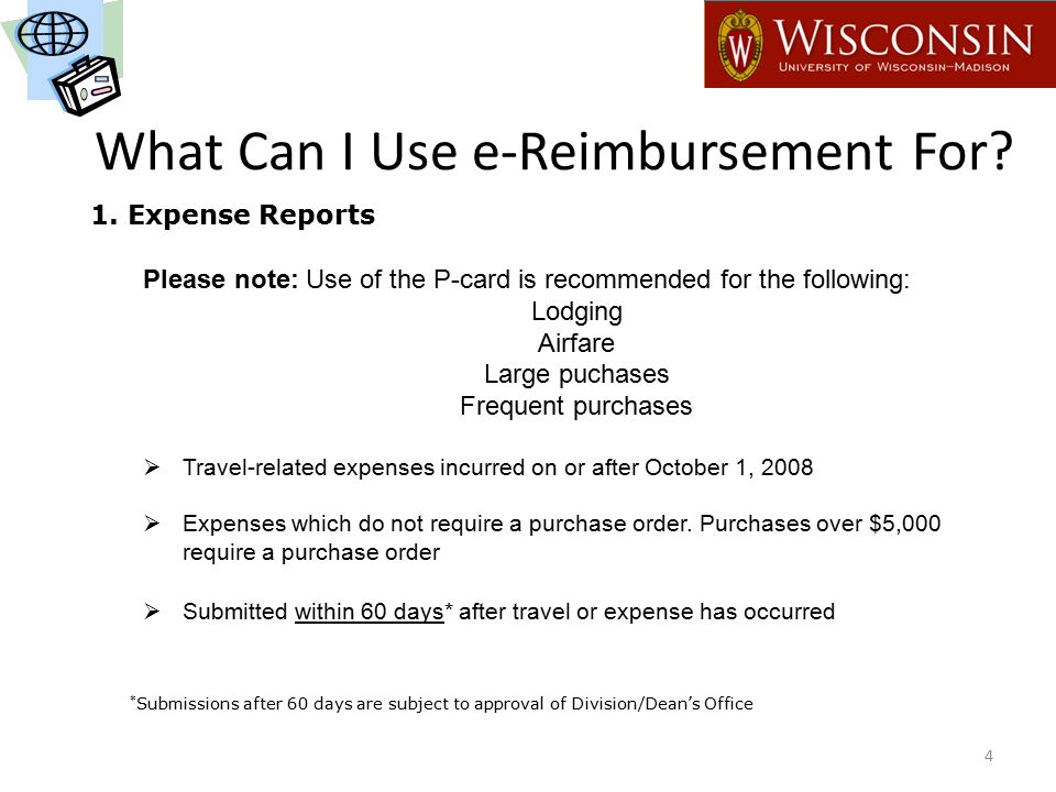 What Can I Use e-Reimbursement For.1.