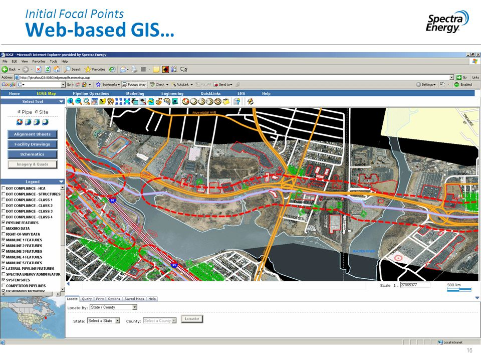 16 Provide Effective Oversight & Controls Initial Focal Points Web-based GIS…