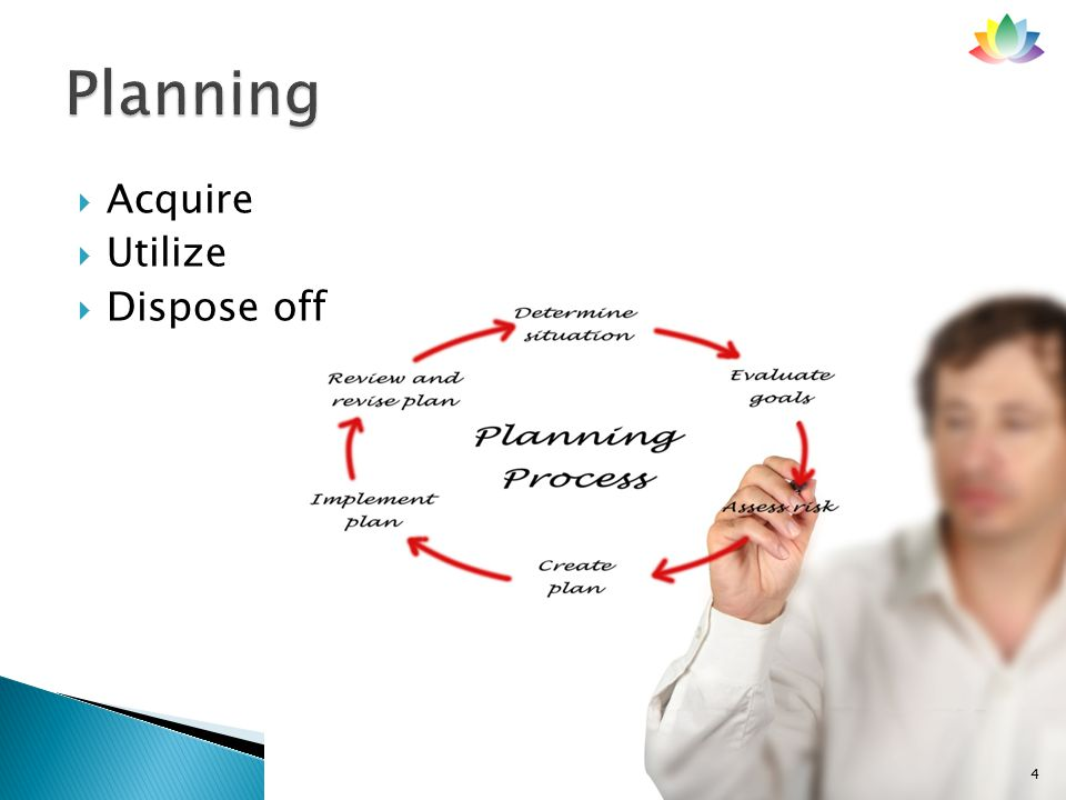  A common system used by all and used for all types of resource planning and utilization. 5