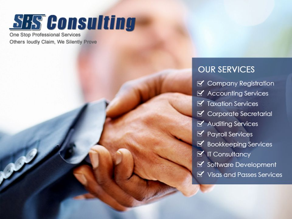 BOOKKEEPING SERVICES SBS Consulting offers full ranges of Bookkeeping services to all business types who wish to outsource their bookkeeping needs.