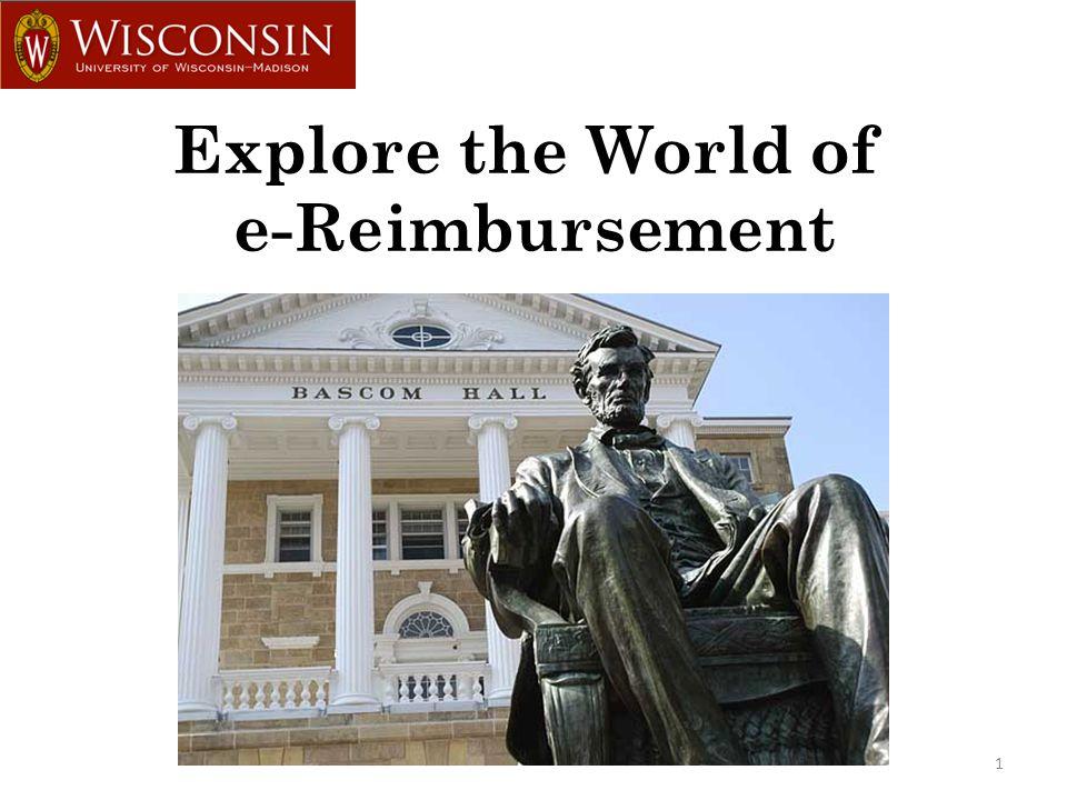 1 Explore the World of e-Reimbursement