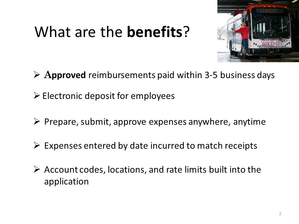 3 What are the benefits.