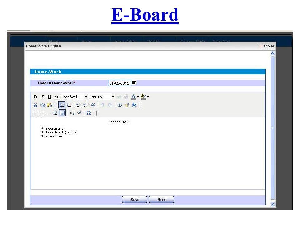 E-Board