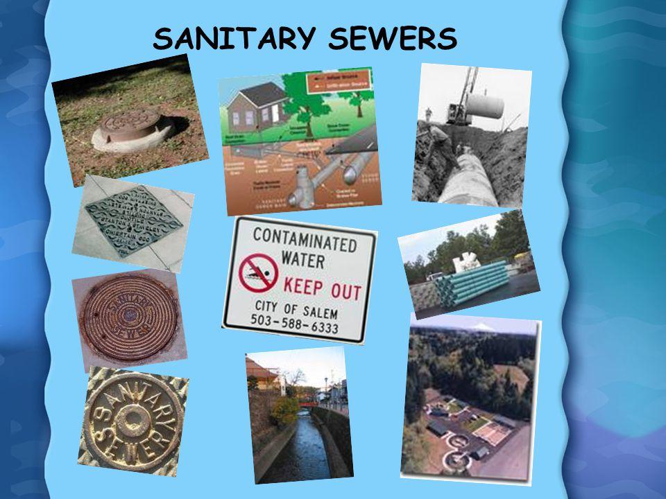 SANITARY SEWERS