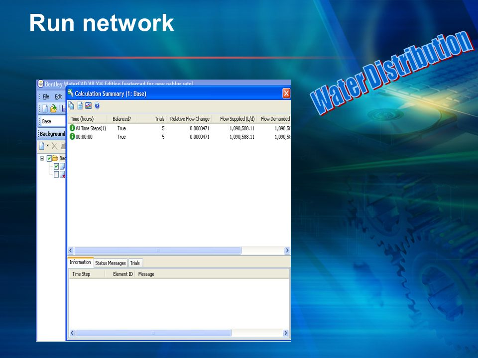 Run network