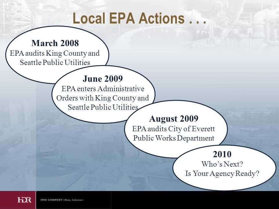 Local EPA Actions...
