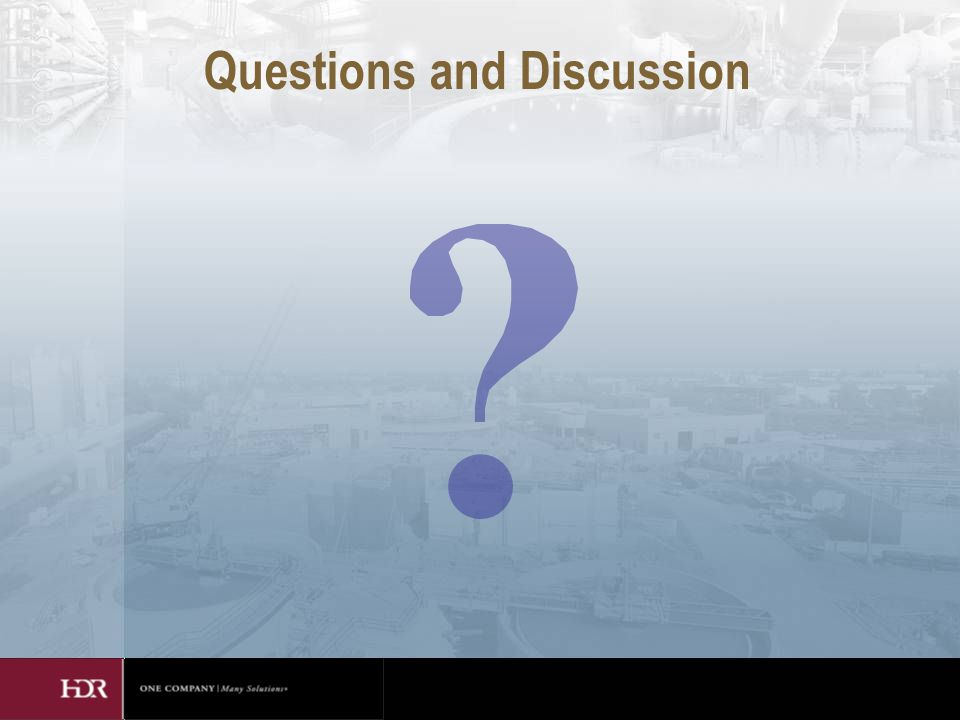 Questions and Discussion