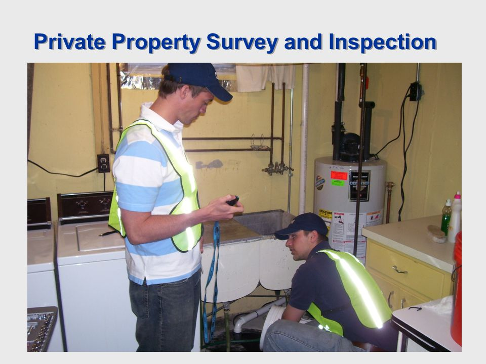 Private Property Survey and Inspection