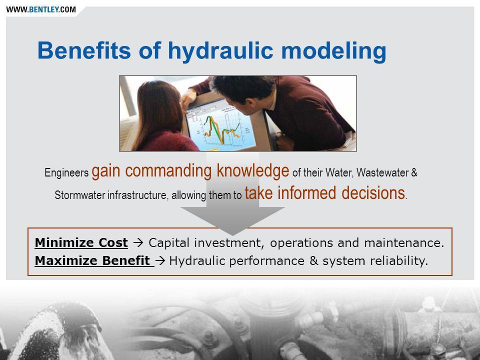 WaterCAD modules Darwin Calibrator Automated model calibration Darwin Designer Optimized and automated network design.