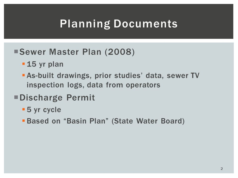 3 Funding  Sewer Enterprise Fund  Loans  SRF, USDA, etc…  Grants  Fewer available  Demographic and/or geographic requirements