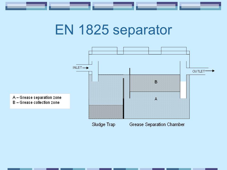EN 1825 separator