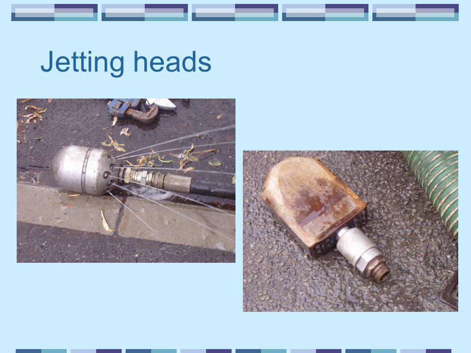 Jetting heads