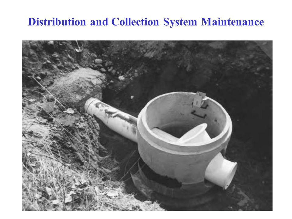 56 Distribution and Collection System Maintenance