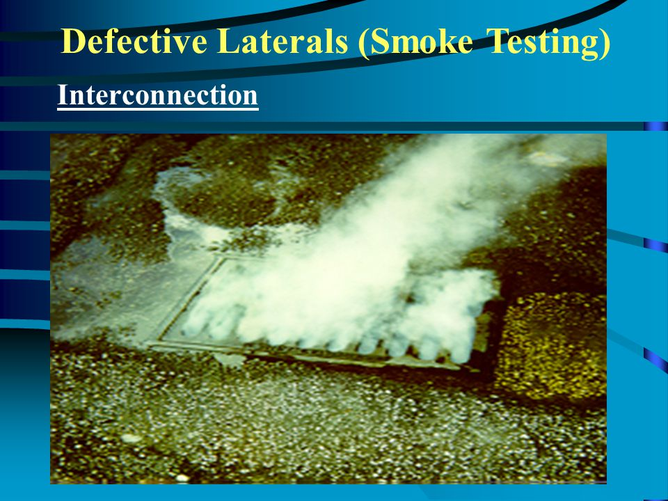 Defective Laterals (Smoke Testing) Interconnection