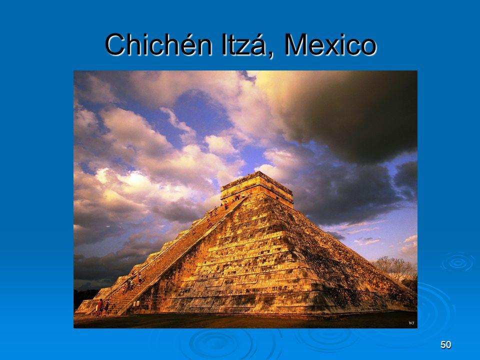 50 Chichén Itzá, Mexico