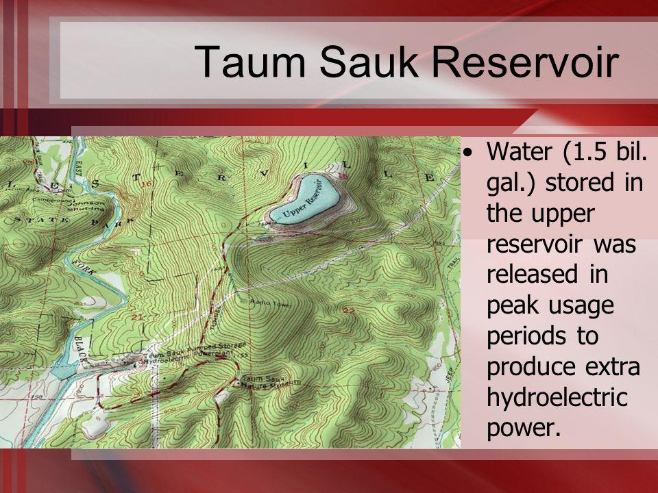 Taum Sauk Reservoir Water (1.5 bil.