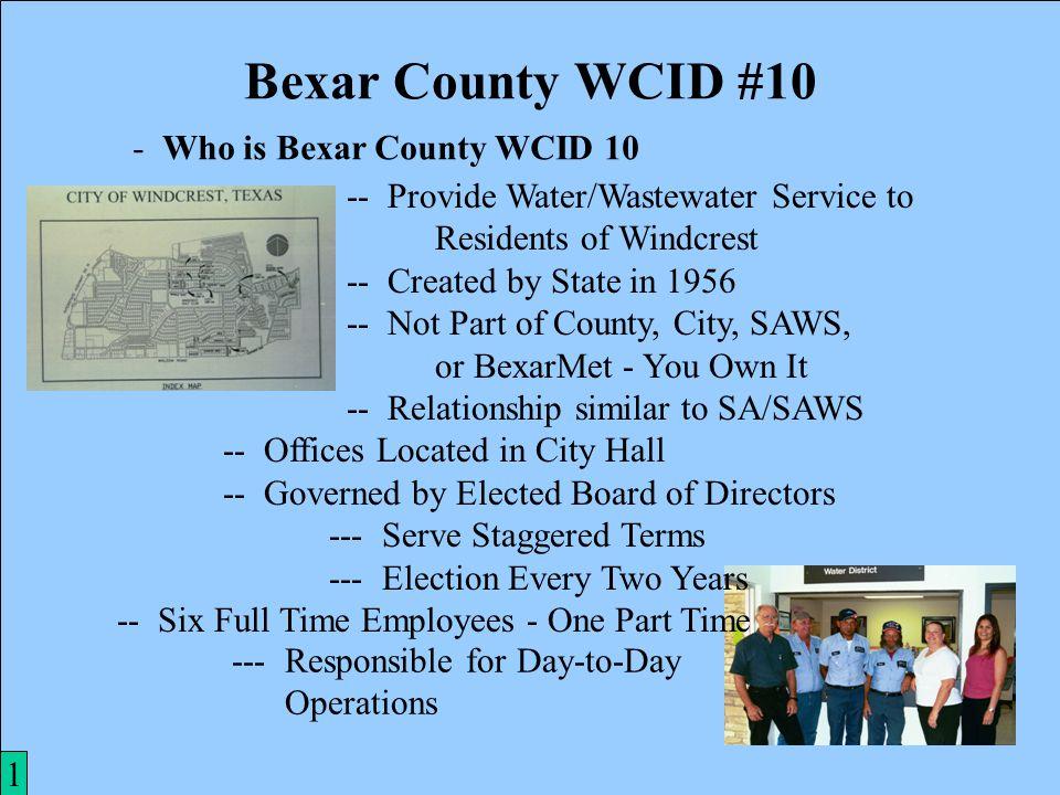 12 Bexar County WCID #10 11