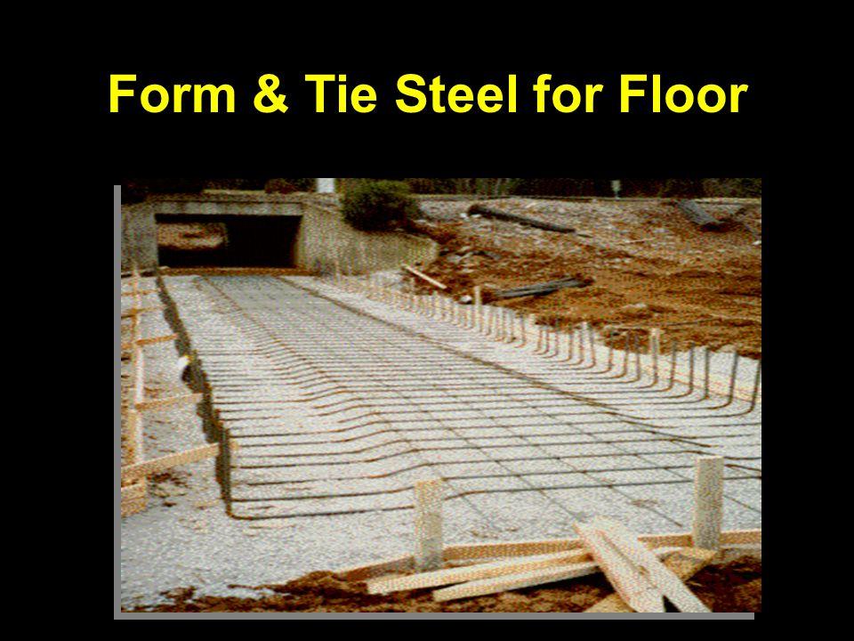 Form & Tie Steel for Floor