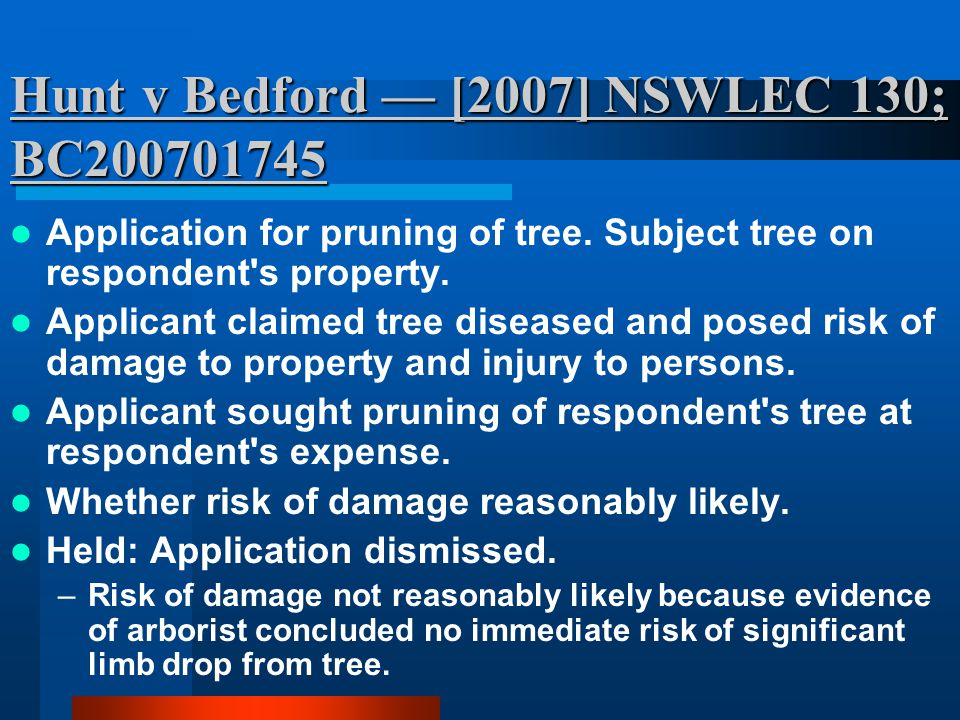 Owners Strata Plan 4085 v Mallone — (2006) 12 BPR 23,691; [2006] NSWSC 1381; Application for order defendant liable to contribute to abatement of nuisance involving rocks falling from land of defendant onto land of plaintiff.