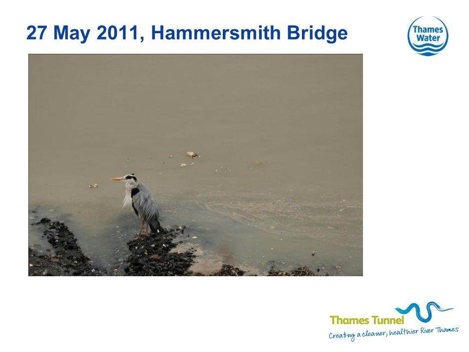 27 May 2011, Hammersmith Bridge