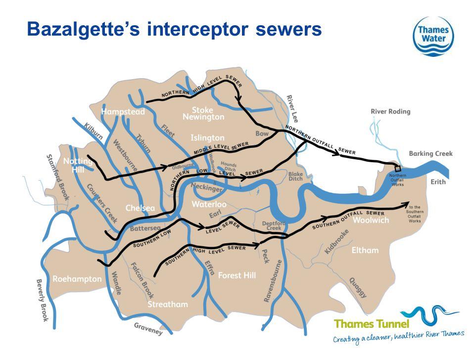 Bazalgette's interceptor sewers